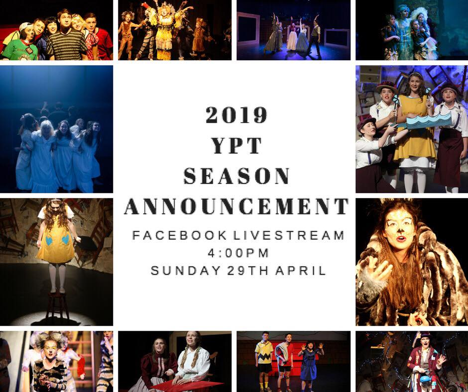 YPT 2019 Season Announcement