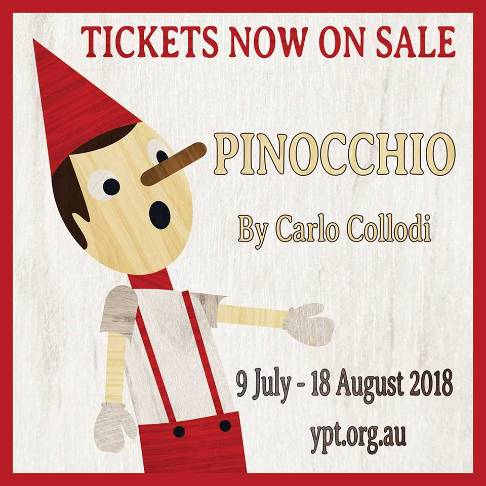 Pinochio tickets now on sale