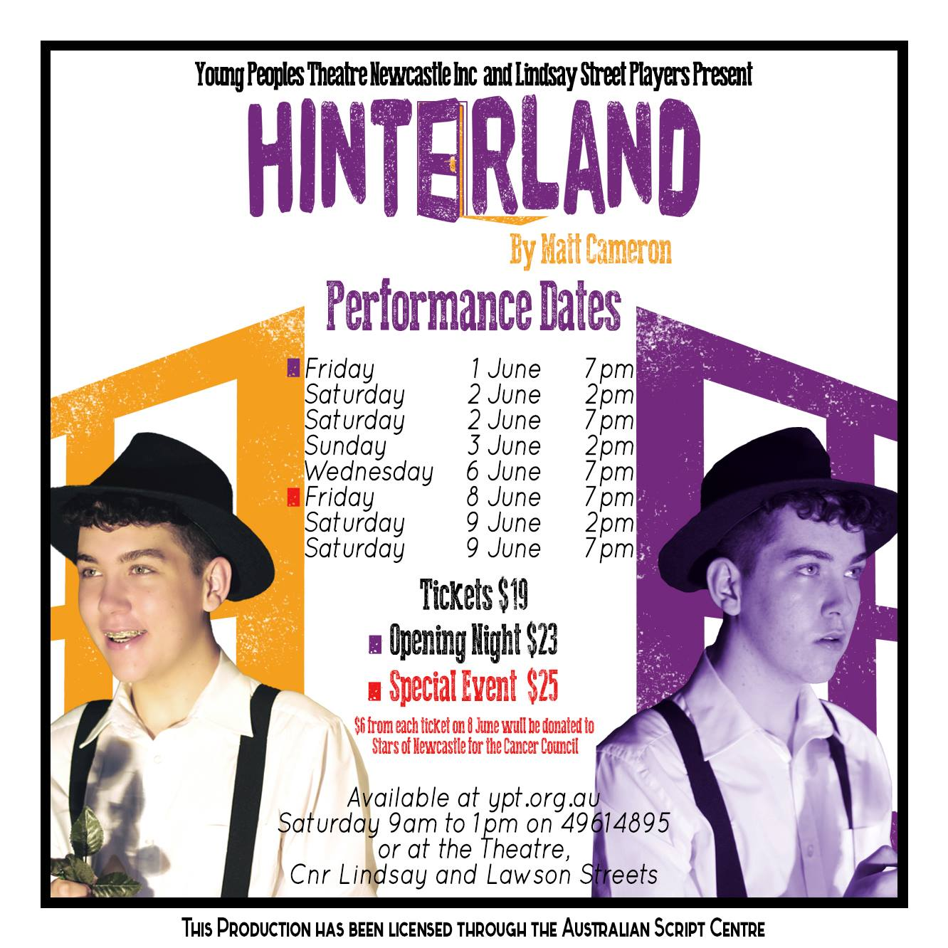Hinterland tickets now on sale