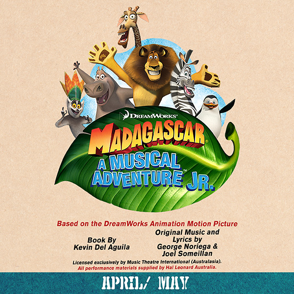 Madagascar, A Musical Adventure Jr. 2019 Production
