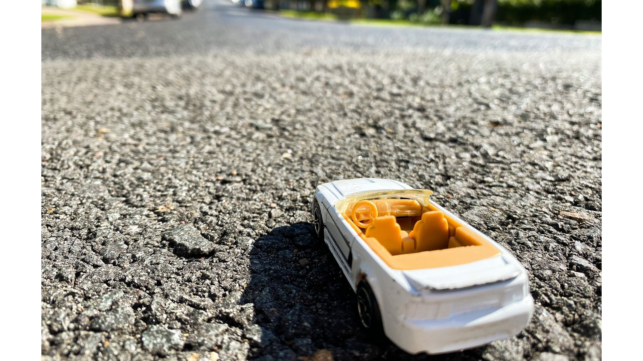 Toy Car on the Road